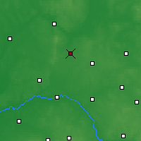 Nearby Forecast Locations - Zambrów - Carte