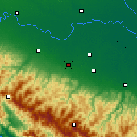 Nearby Forecast Locations - Reggio d'Émilie - Carte