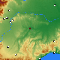 Nearby Forecast Locations - Asti - Carte