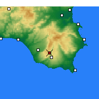 Nearby Forecast Locations - Raguse - Carte