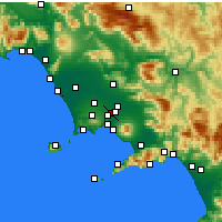 Nearby Forecast Locations - Afragola - Carte