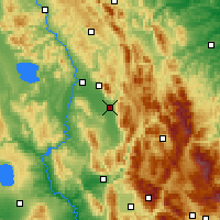 Nearby Forecast Locations - Foligno - Carte