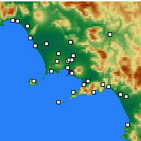 Nearby Forecast Locations - Portici - Carte