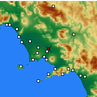 Nearby Forecast Locations - Acerra - Carte