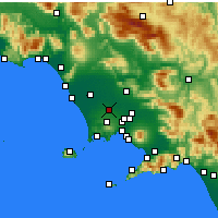 Nearby Forecast Locations - Aversa - Carte