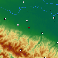 Nearby Forecast Locations - Modène - Carte