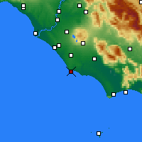 Nearby Forecast Locations - Anzio - Carte