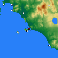 Nearby Forecast Locations - Orbetello - Carte