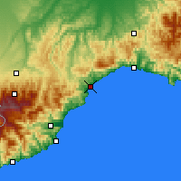 Nearby Forecast Locations - Savone - Carte