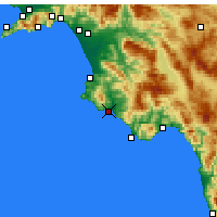 Nearby Forecast Locations - Casal Velino - Carte