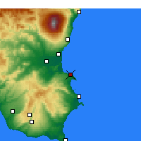 Nearby Forecast Locations - Brucoli - Carte
