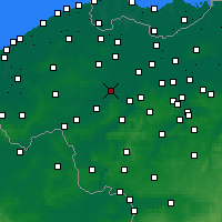 Nearby Forecast Locations - Deinze - Carte