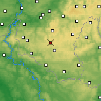 Nearby Forecast Locations - Libramont-Chevigny - Carte