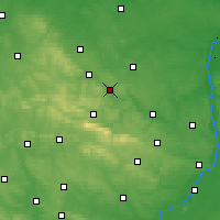 Nearby Forecast Locations - Starachowice - Carte