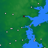 Nearby Forecast Locations - Vejle - Carte