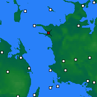 Nearby Forecast Locations - Kalundborg - Carte