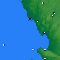 Nearby Forecast Locations - Falkenberg - Carte