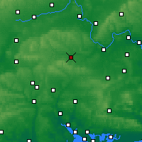 Nearby Forecast Locations - Newbury - Carte