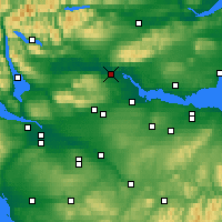 Nearby Forecast Locations - Stirling - Carte