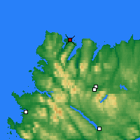 Nearby Forecast Locations - Durness - Carte