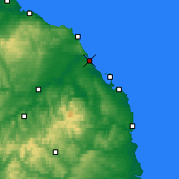 Nearby Forecast Locations - Berwick-upon-Tweed - Carte