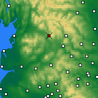 Nearby Forecast Locations - Settle - Carte