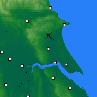 Nearby Forecast Locations - Driffield - Carte