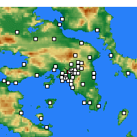 Nearby Forecast Locations - Ilio - Carte