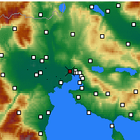 Nearby Forecast Locations - Stavroupoli - Carte
