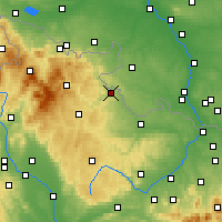 Nearby Forecast Locations - Krnov - Carte