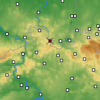 Nearby Forecast Locations - Varnsdorf - Carte
