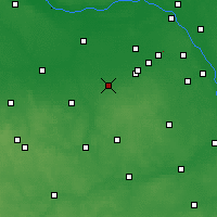 Nearby Forecast Locations - Żyrardów - Carte