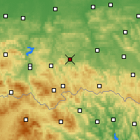 Nearby Forecast Locations - Gorlice - Carte