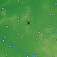 Nearby Forecast Locations - Kępno - Carte
