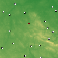 Nearby Forecast Locations - Końskie - Carte
