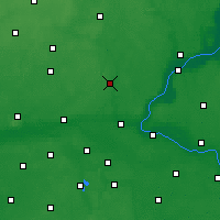 Nearby Forecast Locations - Koronowo - Carte