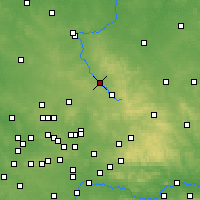 Nearby Forecast Locations - Myszków - Carte