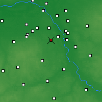 Nearby Forecast Locations - Piaseczno - Carte