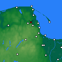 Nearby Forecast Locations - Reda - Carte