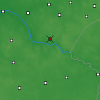 Nearby Forecast Locations - Siemiatycze - Carte