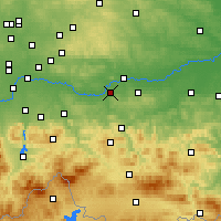 Nearby Forecast Locations - Skawina - Carte