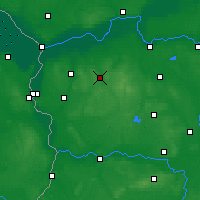 Nearby Forecast Locations - Sulęcin - Carte