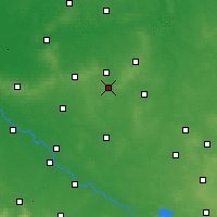 Nearby Forecast Locations - Syców - Carte