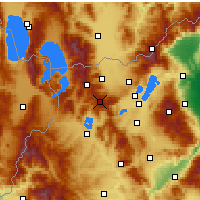 Nearby Forecast Locations - Verno - Vitsi - Carte