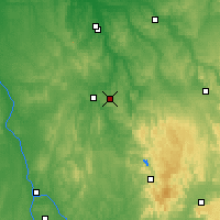 Nearby Forecast Locations - Saint-Fargeau - Carte