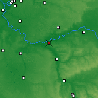 Nearby Forecast Locations - Montereau-Fault-Yonne - Carte