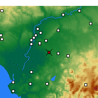 Nearby Forecast Locations - Utrera - Carte