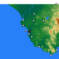 Nearby Forecast Locations - Puerto Real - Carte