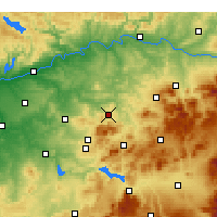 Nearby Forecast Locations - Baena - Carte