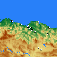 Nearby Forecast Locations - Sestao - Carte